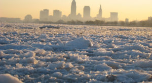 The Spectacular Winter Waterfront Hike Every Clevelander Must Take