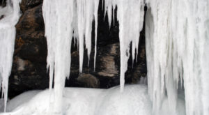 A Trip Inside Maine's Frozen Cave Is Positively Surreal