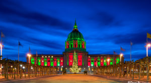 8 Nostalgic Photos Of Downtown San Francisco At Christmastime