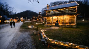 The Christmas Village In West Virginia That Becomes More Magical Year After Year