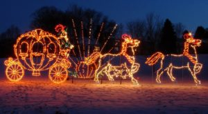 You'll Love The Dreamy Ride Through One Of The Largest Drive-Thru Light Shows In Pennsylvania