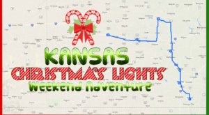 Here's The Perfect Weekend Itinerary If You Love Seeing Kansas's Magical Christmas Lights
