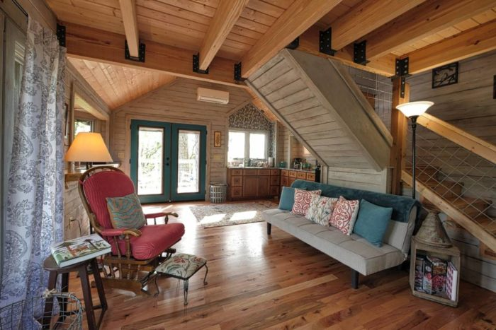 The Treehouse Rental In North Carolina That's Beyond Your