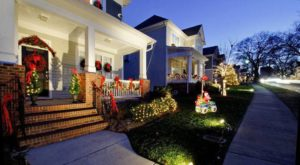 These 5 Charlotte Neighborhoods Are Pure Magic During Christmastime