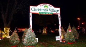 Illinois Is Home To The Most Magical Christmas Village This Side Of The North Pole