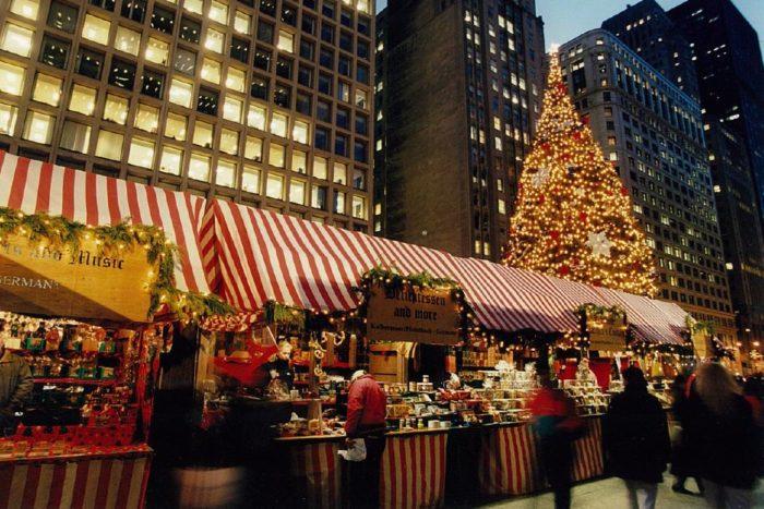 CHRISTKINDLMARKET CHICAGO CHRISTMAS
