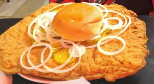 This Small Town Is Home To The Biggest And Baddest Tenderloin Sandwich In All Of Illinois