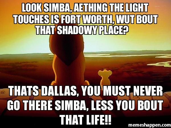 Funny Memes If: Fort Worth Memes