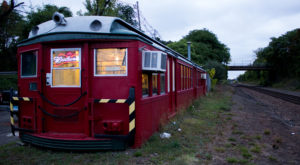 This 1920s Subway Car Is Actually A Connecticut Restaurant That Serves Crave-Worthy Pizza
