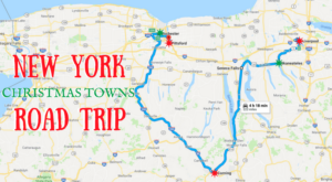 The Magical Road Trip Will Take You Through New York's Most Charming Christmas Towns