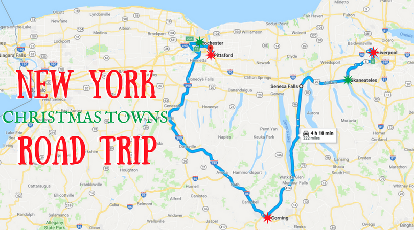 The magical road trip will take you through new york s for Christmas trips to new york