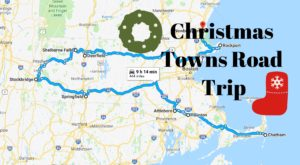 The Magical Road Trip Will Take You Through Massachusetts' Most Charming Christmas Towns
