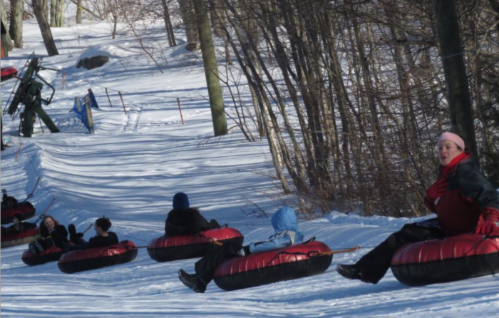 Yawgoo Valley Ski Area Is The Best Place To Go Snow Tubing