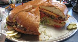 The Enormous Cheeseburger That's Nearly As Big As Alaska