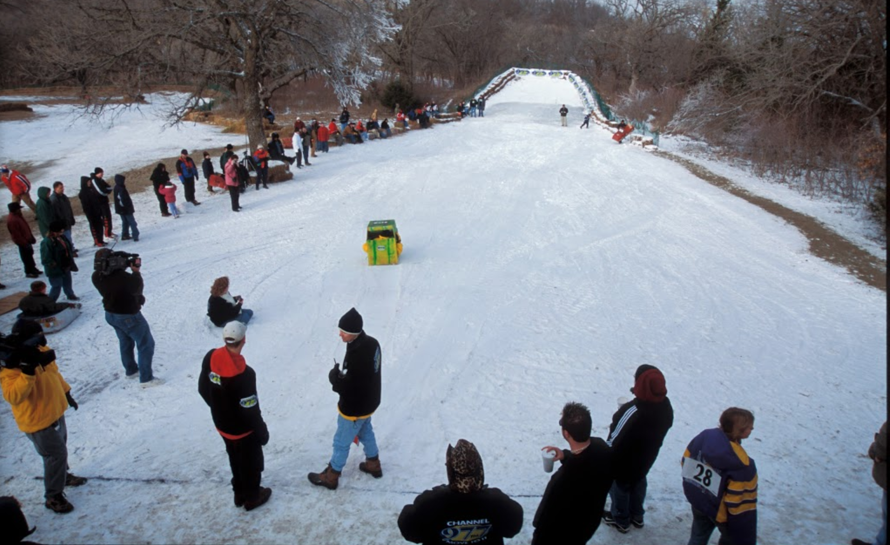 Mahoney State Park Has One Of The Best Snow Tubing Hills