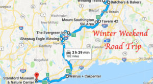 Here's The Perfect Weekend Itinerary To Make The Most Out Of Winter In Connecticut