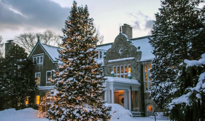 The Blithewold Estate In Rhode Island Is A Christmas Wonderland Each December