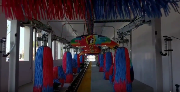 The World's Longest Car Wash Is Right Here In Texas