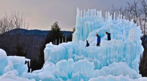 The One Staggering Ice Castle In New Hampshire You Need To See To Believe