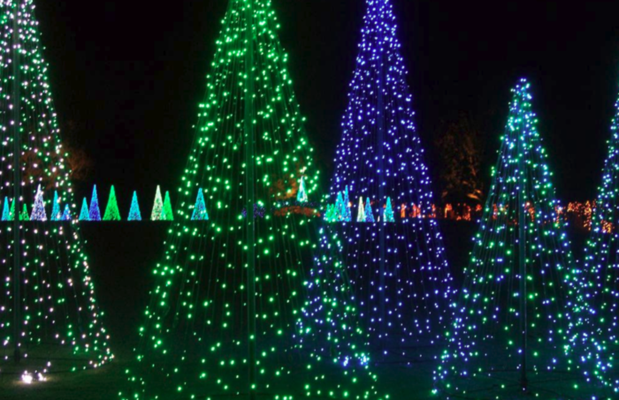 Magic Christmas In Lights At Bellingrath Gardens And Home Is The Best Light Display In Alabama