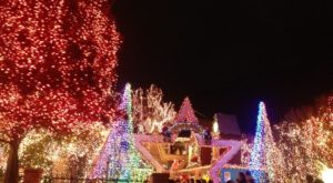 The Mesmerizing Christmas Display Near San Francisco With Over 400,000 Glittering Lights