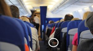 Press This Secret Button On Your Airplane Seat To Get More Room