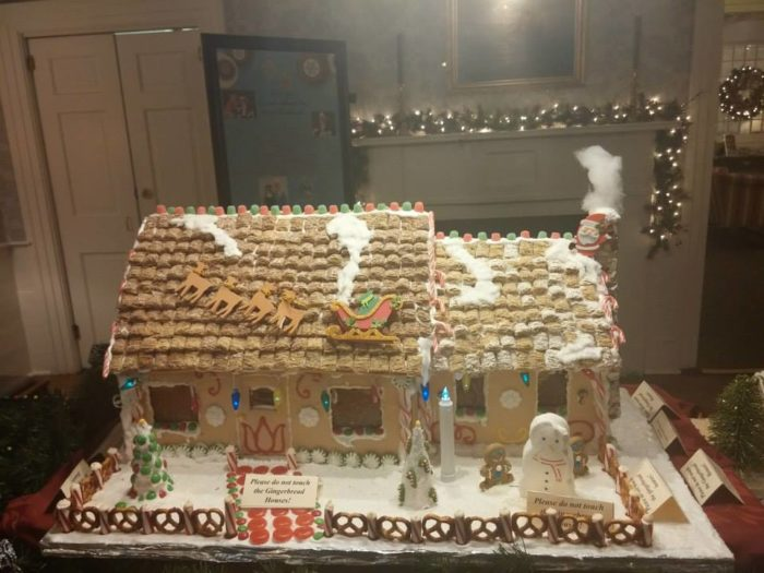 Admire A Gingerbread Village