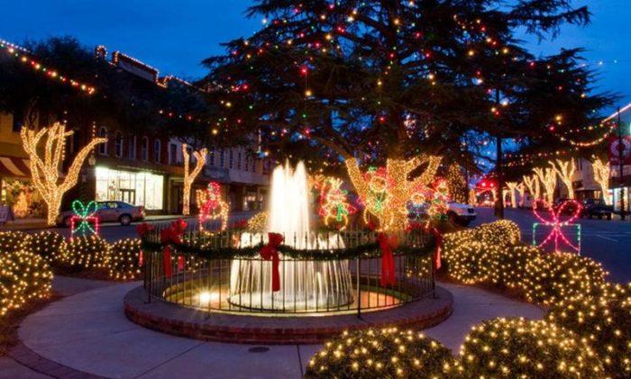 Christmas Lights Mcadenville Nc