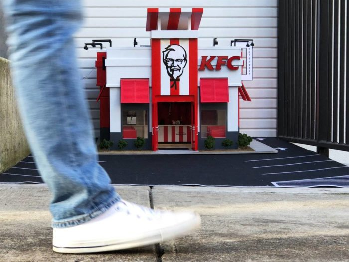 The World S Smallest Kfc Is Here In America And They Make