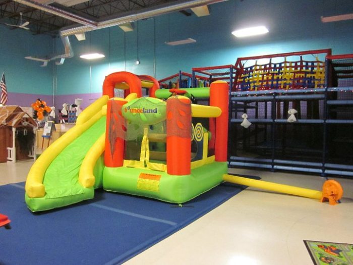 Climbing Structures And Inflatables Galore Are Sure To Keep Even The Most  Energetic Kids Busy And Entertained.