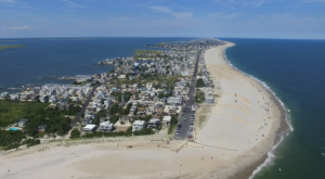 A Drone Flew Over Long Beach Island In New Jersey And Captured Mesmerizing Footage