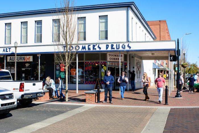 Top Restaurants Auburn Alabama