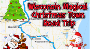 The Magical Road Trip Will Take You Through Wisconsin's Most Charming Christmas Towns