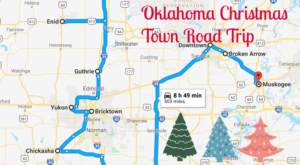 The Magical Road Trip Will Take You Through Oklahoma's Most Charming Christmas Towns
