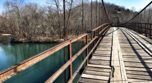 The Stomach-Dropping Suspended Bridge Walk You Can Only Find In Missouri
