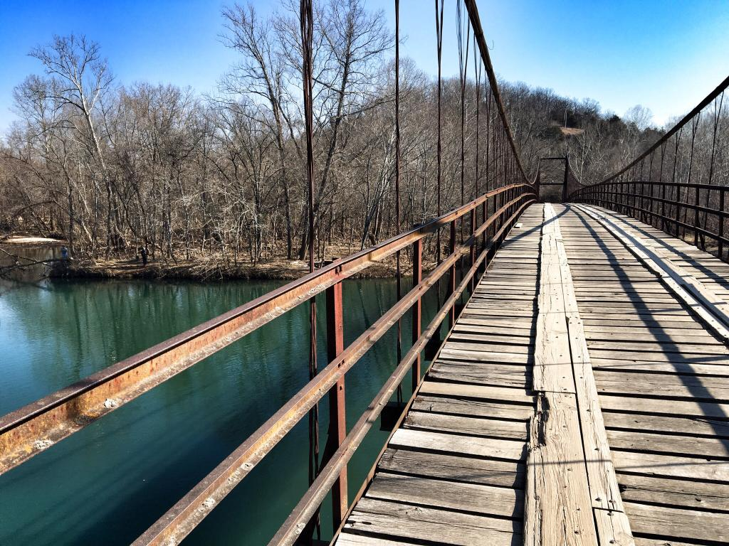 The Stomach Dropping Suspended Bridge Walk You Can Only