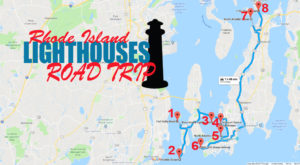 The Coastal Lighthouse Road Trip In Rhode Island You Simply Can't Miss