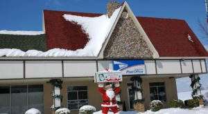 The Magical Indiana Christmas Town Where All The Letters To Santa Go