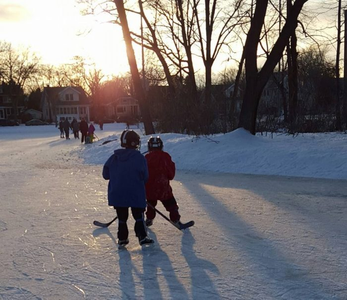 Tenney Park In Madison Is An Amazing Natural Ice Rink In