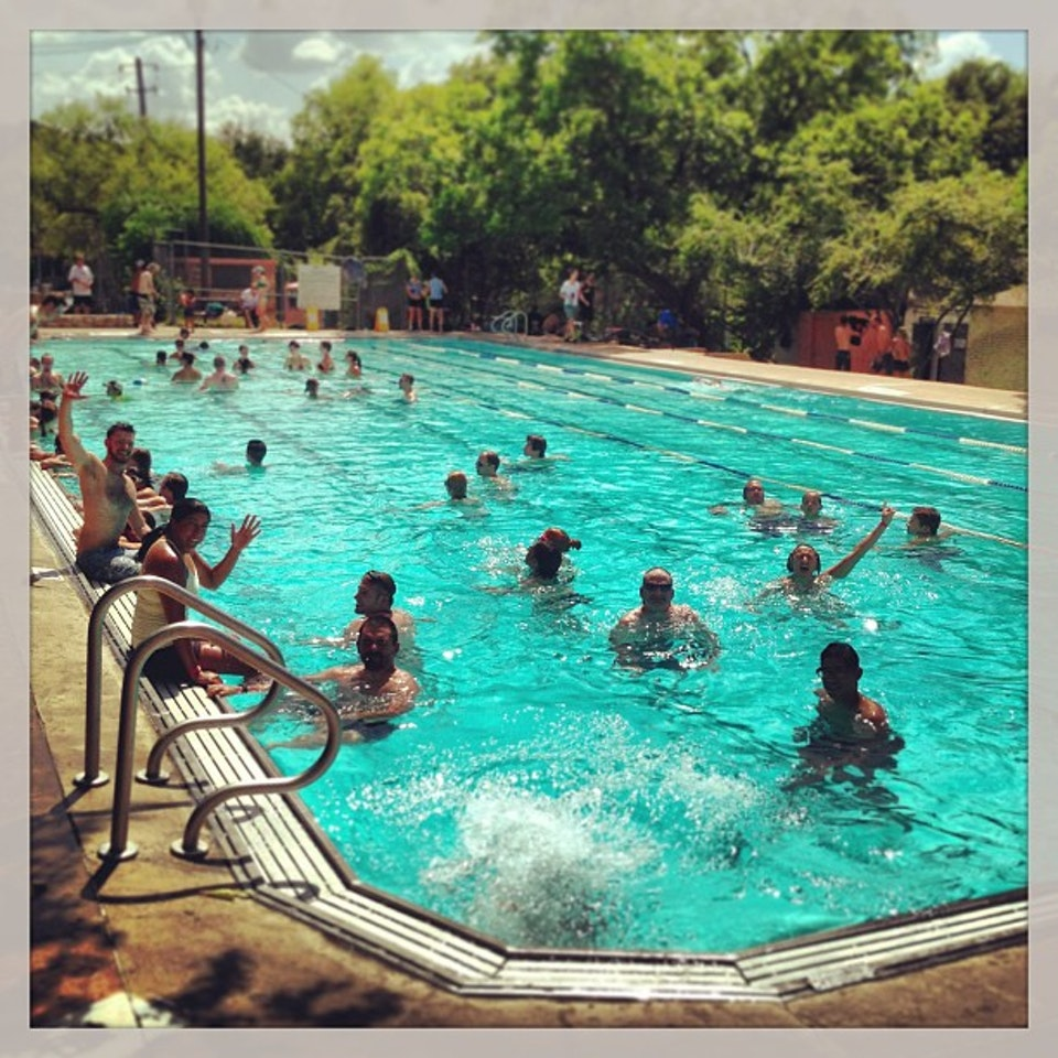 Big Stacy Pool In Texas Is Naturally Heated For Year Round