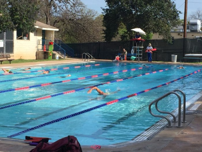 Big stacy pool in texas is naturally heated for year round - Opening a swimming pool after winter ...