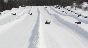 This Epic Snow Tubing Hill Near Boston Will Give You The Winter Thrill Of A Lifetime