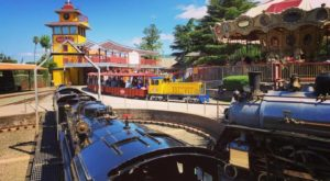 There's A Little-Known, Fascinating Train Park Near San Francisco And You'll Want To Visit