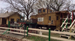 There's A Little-Known, Fascinating Train Park In Texas And You'll Want To Visit
