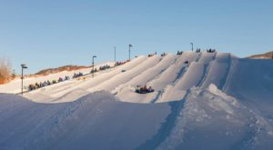 This Epic Snow Tubing Hill Near Denver Will Give You The Winter Thrill Of A Lifetime