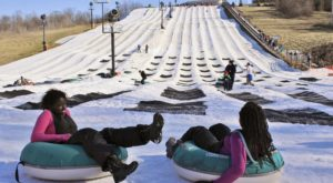 This Epic Snow Tubing Hill In Indiana Will Give You The Winter Thrill Of A Lifetime