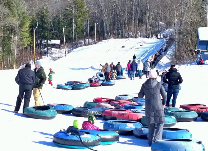 Granite Gorge Has The Most Epic Snow Tubing In New Hampshire