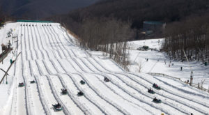 This Epic Snow Tubing Hill In Virginia Will Give You The Winter Thrill Of A Lifetime