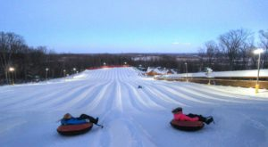 This Epic Snow Tubing Hill Near DC Will Give You The Winter Thrill Of A Lifetime