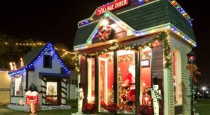 The Christmas Village In Texas That Becomes Even More Magical Year After Year